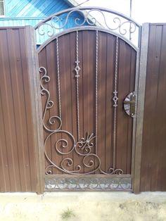 Фотографии на стене сообщества – 18 703 фотографии   ВКонтакте Wrought Iron Garden Gates, Metal Gates, Door Gate Design, Steel Doors, Welding Projects, Entry Doors, Fencing, Metal Art, Home Interior Design