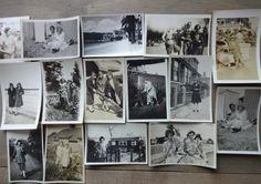 Vintage Photos..15 Mini Snapshots..Old Photo Snapshots..Vernacular Photos..Found Photos..Altered Art Photos..Mixed Media Photos..Mini Photos by iloveyoumorephotos on Etsy