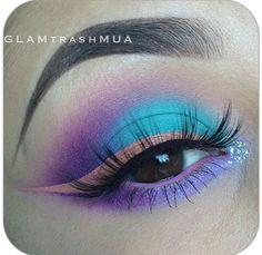 Pastel easter makeup