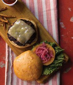 Painted Hills Beef Burger - Pomegranate Bistro - Redmond, WA  Delish!