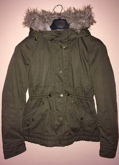 Kupuj mé předměty na #vinted http://www.vinted.cz/damske-obleceni/kratke-kabaty/13728370-hnedo-zelena-podzimni-bunda-parka