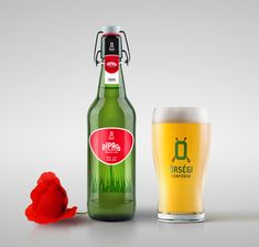 Őrségi IPA - Pipacs Beer on Packaging of the World - Creative Package Design Gallery