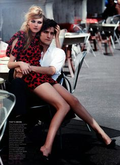Vogue US Junho 2014 | Caroline Trentini por Peter Lindbergh [Editorial]