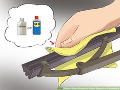 Image titled Stop Windshield Wiper Blades from Squeaking Step 5