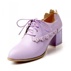 Carol Shoes Vintage Women's Chunky Heel Oxfords Shoes *** A special product just for you. See it now! : Oxford Shoes