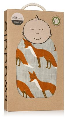 Made with GOTS cetified Organic Cotton. Makes the perfect gift for a little one. Packaged in a kraft gift box. Measures 47 x 47 By MilkBarn Kids (formerly Zebi Baby). Check the News & Discounts page to see current promotions! Baby Body Temperature, Spearmint Baby, Fox Nursery, Woodland Nursery, Muslin Swaddle Blanket, Baby Decor, Baby Wearing, Kids And Parenting, Baby Love