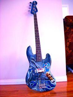 Fender Jazz Bass Swirl Finish