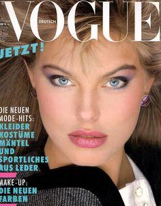 Renee Simonsen - Vogue Germay Sept 1983 by Bill King