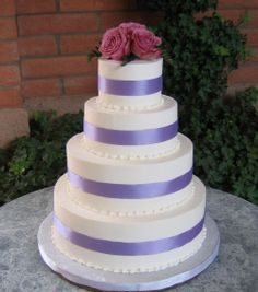 Maybe only 3 tiers but I really like the ribbon for color