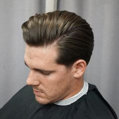 awesome 80 Flirtatious Side Part Haircuts for Men - Choose Your Style Combover Hairstyles, Side Part Hairstyles, Pompadour Hairstyle, Slick Hairstyles, Men's Hairstyle, Easy Hairstyles, Vintage Haircuts, Haircuts For Men, Men's Haircuts