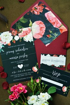 Marsala Black Invite, Floral Wedding Invitations, Flower Wedding Invites, Black Wedding Invitations, Formal Wedding Invitations, Traditional Wedding Invites, Unique Wedding Invitations, Custom Wedding Invites, Vintage Wedding Invitations, Affordable Wedding Invites, Simple Wedding Invites, Wedding Invitation Cards, Christian Wedding Invite, Creative Wedding Invitations, Beautiful Wedding Invite, Personalized Wedding Invitations, Customized Wedding Invites,