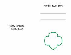 Troop Leader Mom: Getting Started with Daisy Girl Scouts (and Brownies Too!): Juliette Low Fun Patch