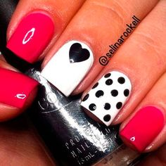 12 Super Cute Valentine's Day Nail Designs - Nail Art HQ