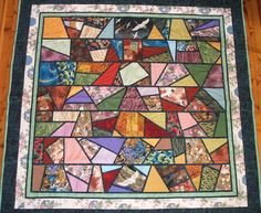 Stained Glass Windows Quilt