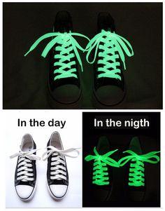 Бесплатная Доставка Завод прямые поставки Светящиеся шнурки люминесцентные шнурки шнурки световой шнурки спорт Длина: 1 м B1