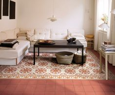 boho home decor - decorative floor tiles