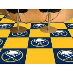 Buffalo Sabres NHL Team Logo Carpet Tiles