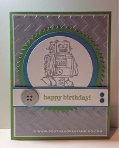 Birthday Card using Boys Will Be Boys from the Stampin' Up! 2014-2015 catalog by Emily Mark SU demo Greenfield Park, Quebec www.southshorestamping.com - TSSC324