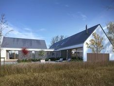 DOM.PL™ - Projekt domu DZW Familijny 1 CE - DOM DW2-10 - gotowy koszt budowy Modern Bungalow House, Modern House Design, Shed, Outdoor Structures, Outdoor Decor, Projects, Home Decor, House Ideas, Home Plans