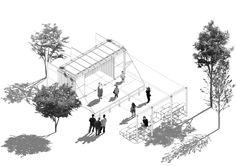 equipamento cultural móvel compartilhado para o jardim canadá - 2012