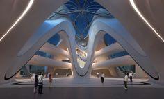 ZAHA HADID ARCHITECTS CHANGSHA MEIXIHU INTERNATIONAL CULTURE AND ART CENTER