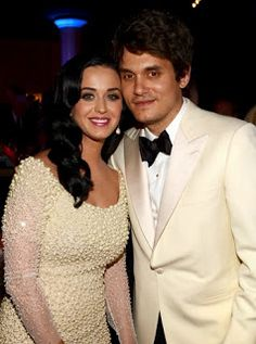 Katy Perry and John Mayer in February