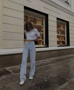 Cute Casual Outfits, Stylish Outfits, Girl Outfits, Fashion Outfits, Aesthetic Fashion, Aesthetic Clothes, Looks Pinterest, Mode Ootd, School Looks