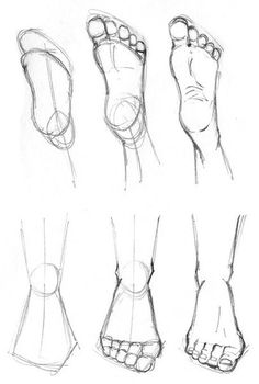 How to draw feet cuz idkHow to draw legs part Rules of geometry and body structureReference guide step by step drawing female torso.Step by Step drawing lessons easy pencil drawing lessons for beginners Art Drawings Sketches Simple, Pencil Art Drawings, Easy Drawings, Body Sketches, Doodle Drawings, How To Draw Sketches, Hipster Drawings, Fantasy Drawings, Detailed Drawings