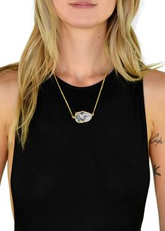 Jewel Cult - Smokey Charcoal Druzy Stone Pendant Necklace, $22.00 (http://www.jewelcult.com/smokey-charcoal-druzy-stone-pendant-necklace/)