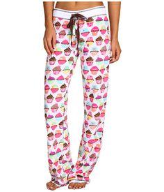 P.J. Salvage Cupcake Parade Velour Thermal Pajama Pant