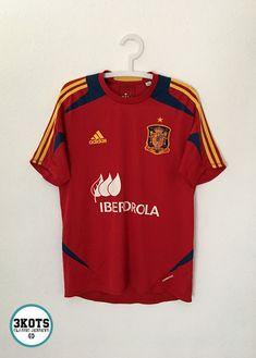 718e1eb4f5b SPAIN 2012 13 Training Football Shirt M Soccer Jersey ADIDAS Vintage  Formotion  adidas