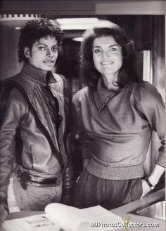 Michael Jackson and Jackie :)