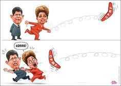 Boomerangue da CPMF voltou-se contra  Dilma e Levy...