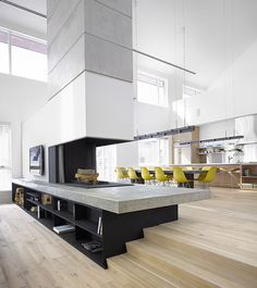 Spectacular modern alpine chalet in Collingwood  by AKB Architects