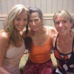 Dana Rae Pare, Ana Forrest and Janike Robinson