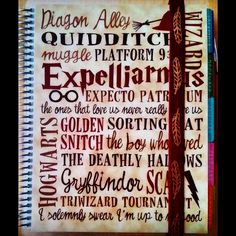 """""""Obsessed with my new @erincondren planner cover and #rainbowsandpixiedust planner elasti! #lifeplanner #ec #harrypottereverything"""" Life Organization, Organizing, Journal Notebook, Journals, Harry Potter Planner, Day Planners, Office And School Supplies, Piece Of Me, The Wiz"""