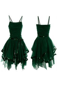 vintage homecoming dresses #green_dress