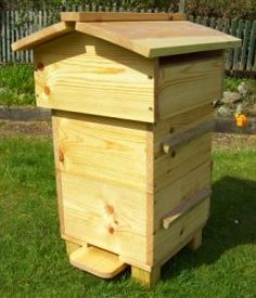 Warre bee hive. I do recommend it