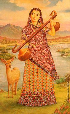 The Asta Sakhis- Tungavidya Krishna Painting, Madhubani Painting, Krishna Art, Mughal Paintings, Indian Art Paintings, Indian Folk Art, India Art, Human Art, Colorful Drawings