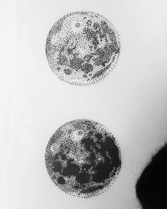 Image result for moon balloon black and white tattoo dotwork