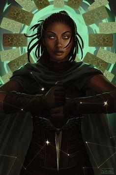 Black Characters, Dnd Characters, Fantasy Characters, Female Characters, Afro Art, Fantasy Inspiration, Character Inspiration, Fantasy Character Design, Character Art