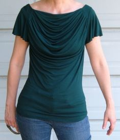 Patterns and Notions >> Looking for a pattern to recreate this cowl neck top