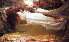 Sleeping Beauty by John William Waterhouse