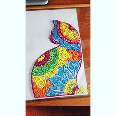 Mandala cat #art #illustration #drawing #draw #TagsForLikes #picture #artist #sketch #sketchbook #paper #pen #pencil #artsy #instaart #beautiful #instagood #gallery #masterpiece #creative #photooftheday #instaartist #graphic #graphics #artoftheday