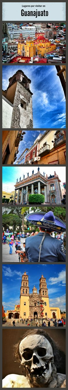 What to do in Guanajuato México?  Top 10 de lugares por visitar en Guanajuato, Guanajuato México.  #travel, #Guanajuato, #Mexico, #Viajes, #Momias
