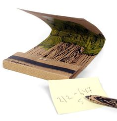 Ni un solo árbol se taló para fabricar estos lápices.