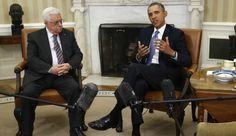 U.S. President Barack Obama meets with Palestinian Authority President Mahmoud Abbas
