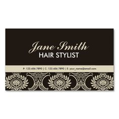 Elegant Professional Vintage Damask Floral Pattern Double-Sided Standard Business Cards (Pack Of 100). I love this design! It is available for customization or ready to buy as is. All you need is to add your business info to this template then place the order. It will ship within 24 hours. Just click the image to make your own!