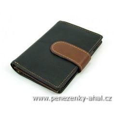 Luxusní pouzdro na karty černé
