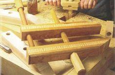 Ah! E se falando em madeira...: faça esse grampo